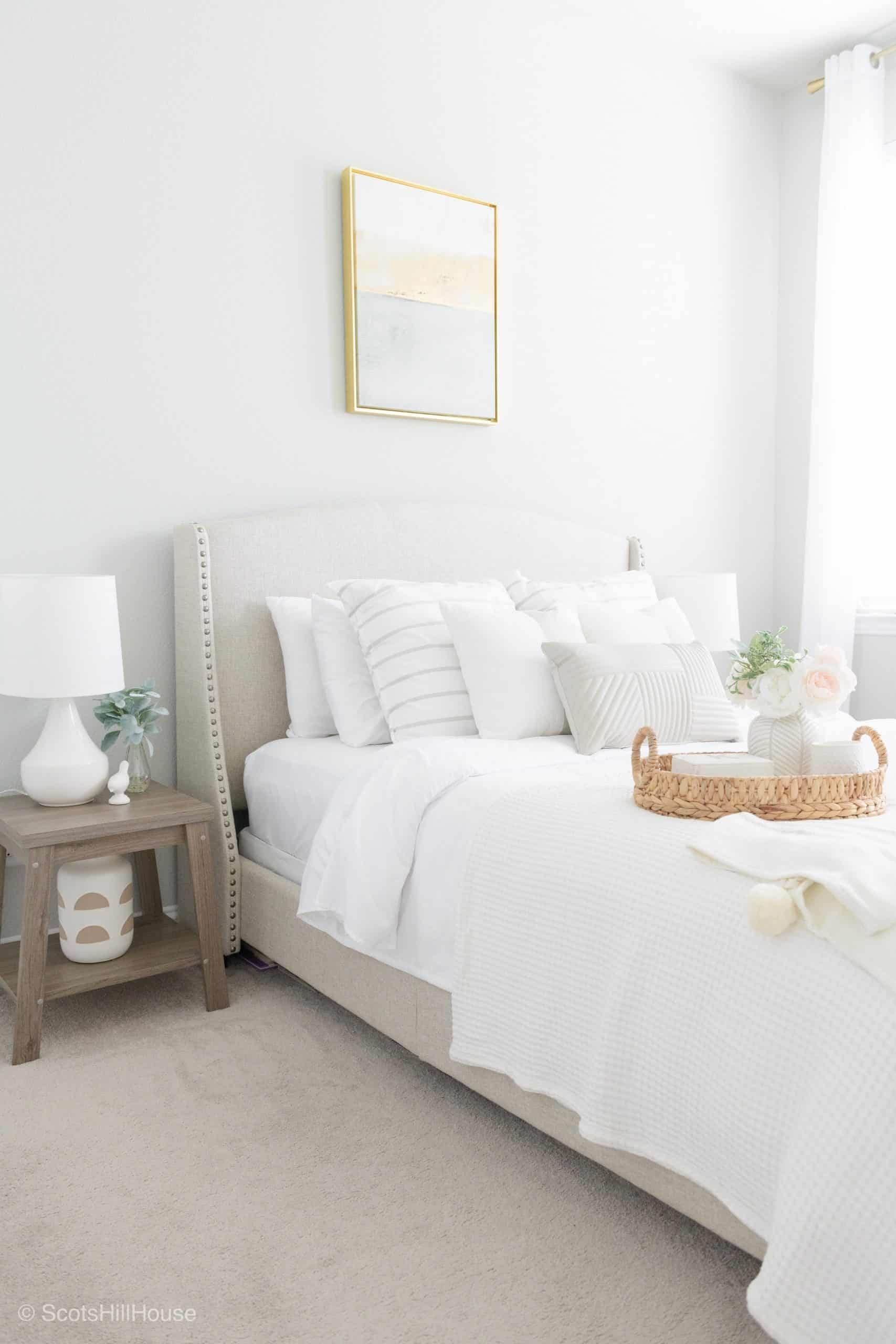 Spring Home Tour Master bedroom