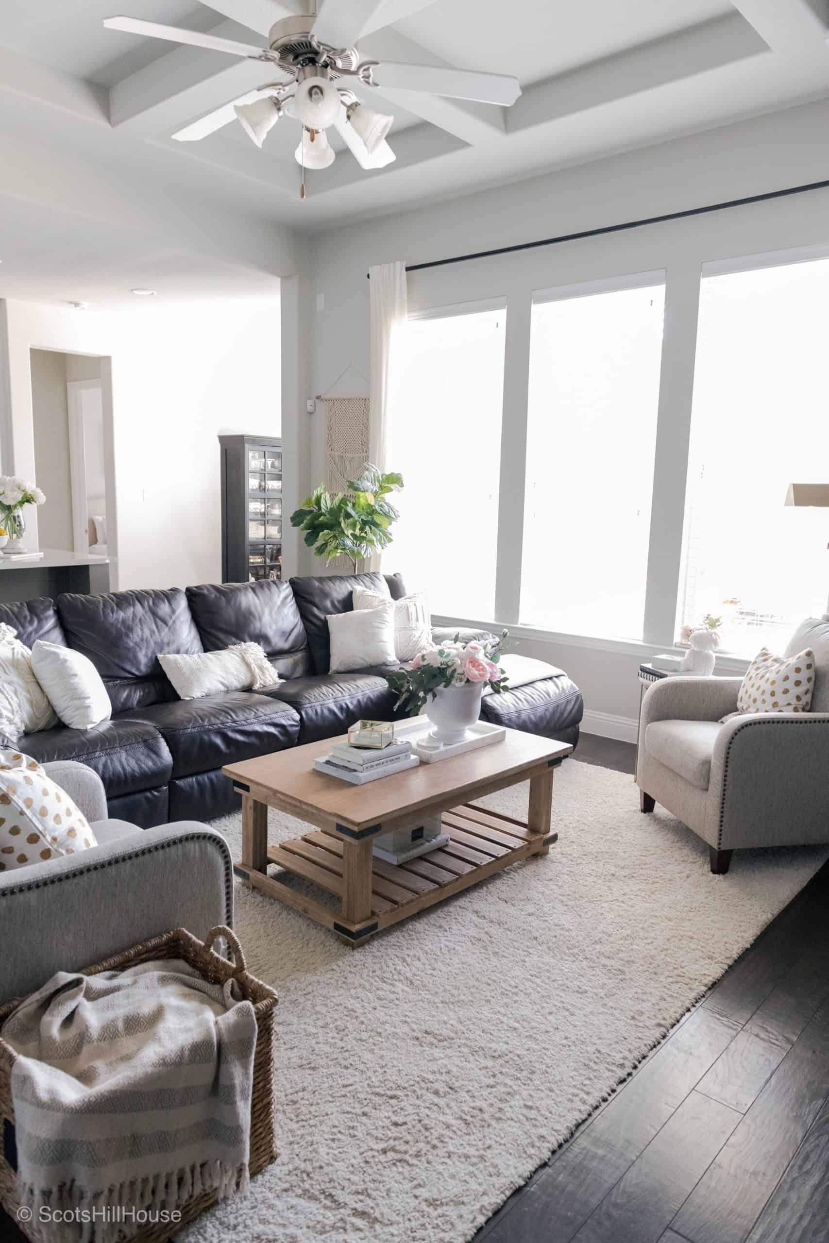 Spring Home Tour Living Room