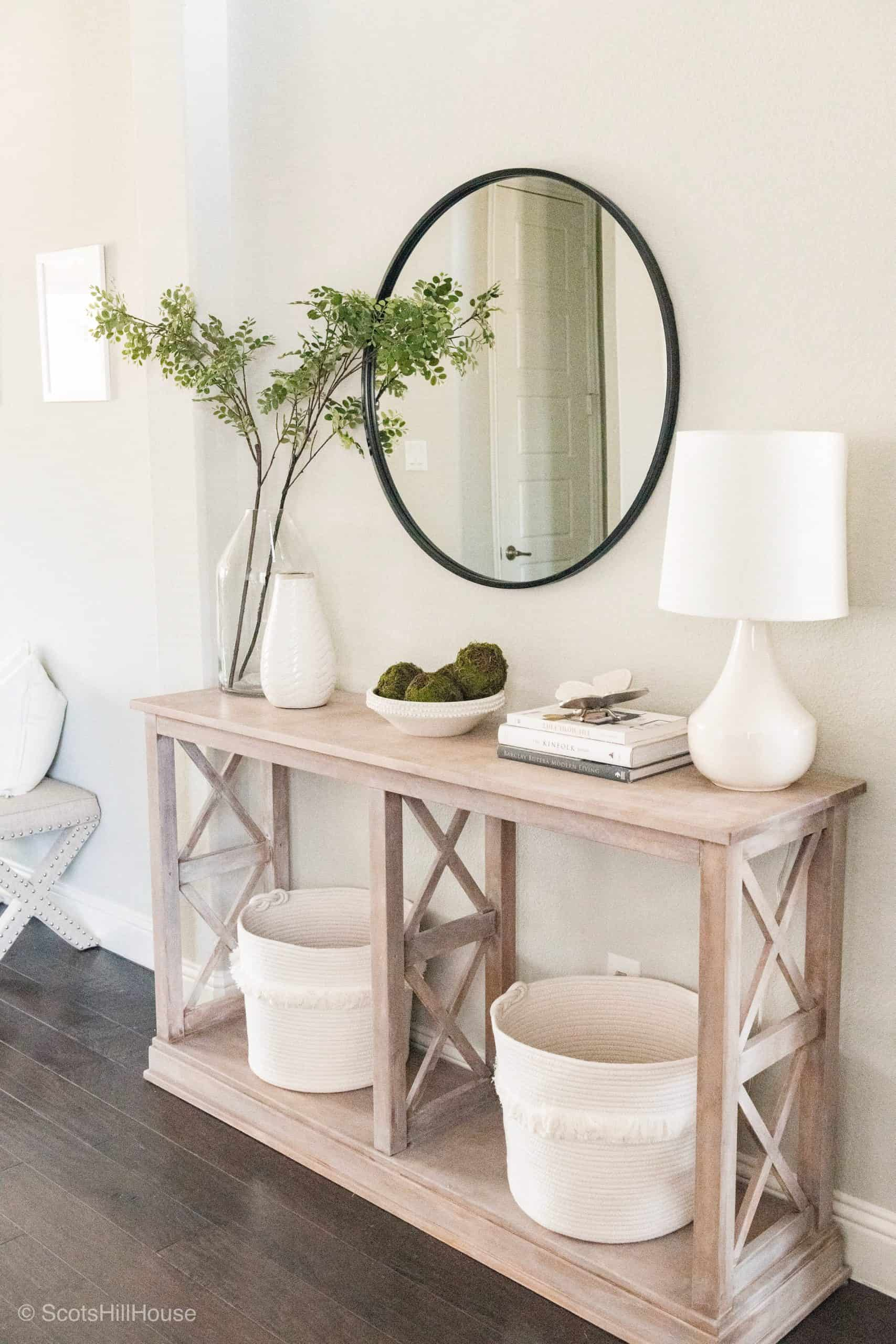 Spring Home Tour Entry Way