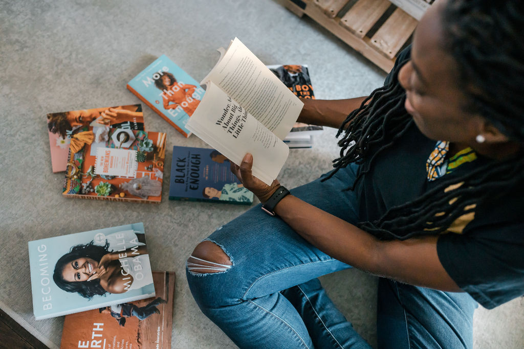 reading some books by black authors for black history month