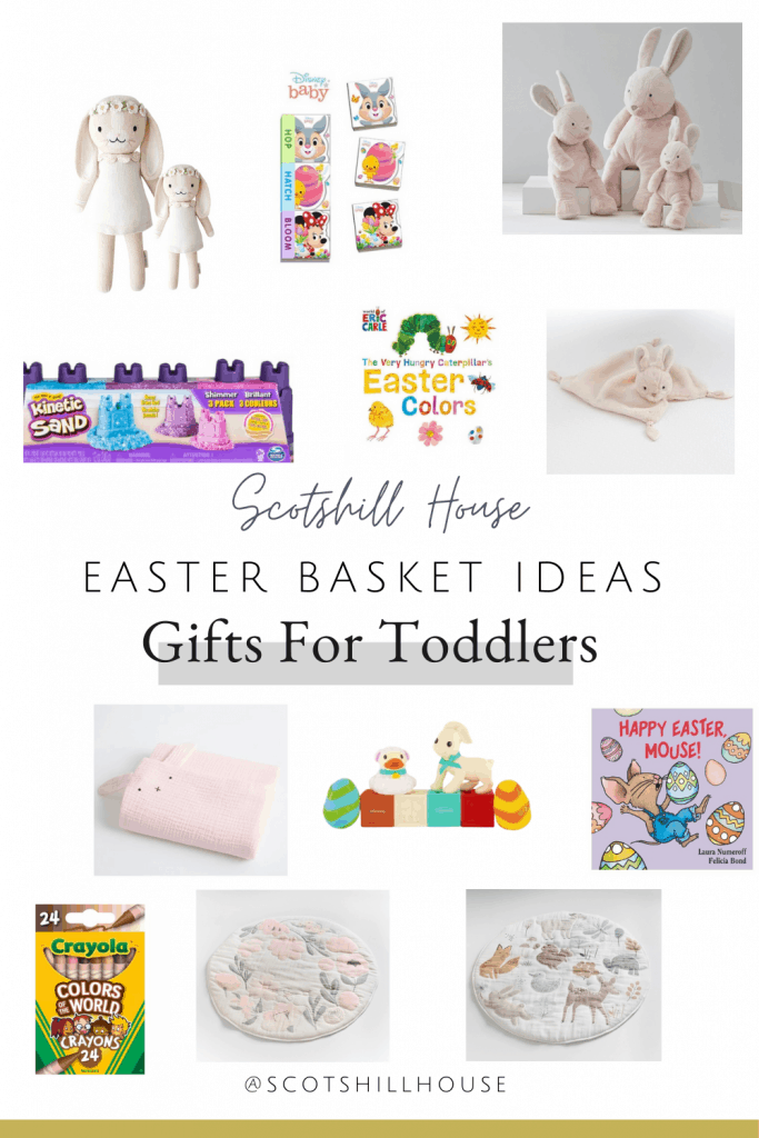 Easter gift basket ideas for toddlers