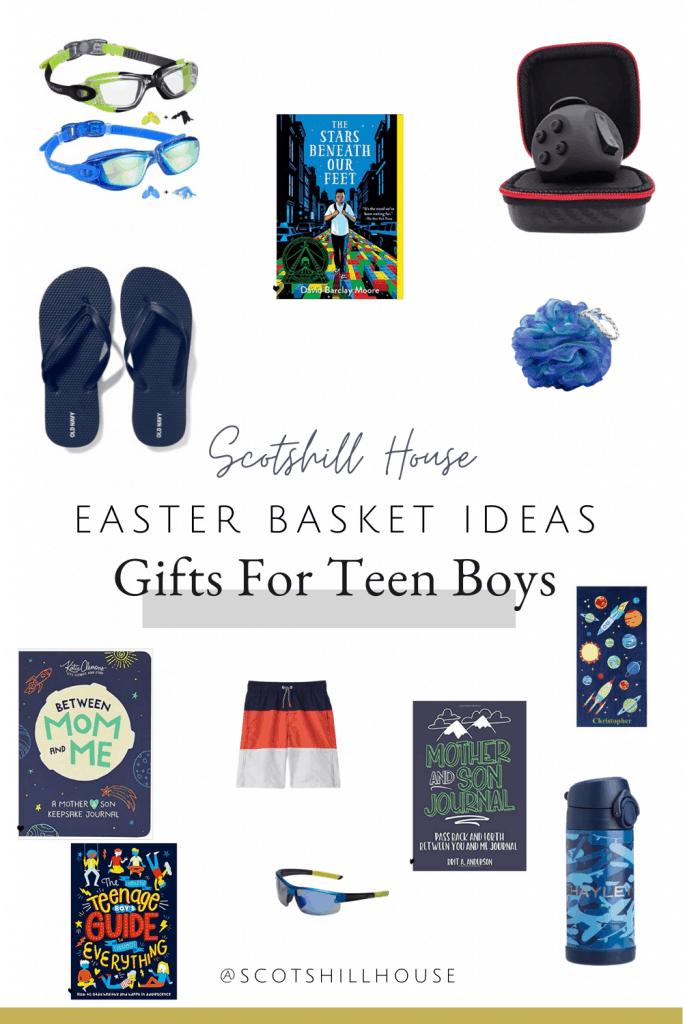 Easter gift basket ideas for teen boys