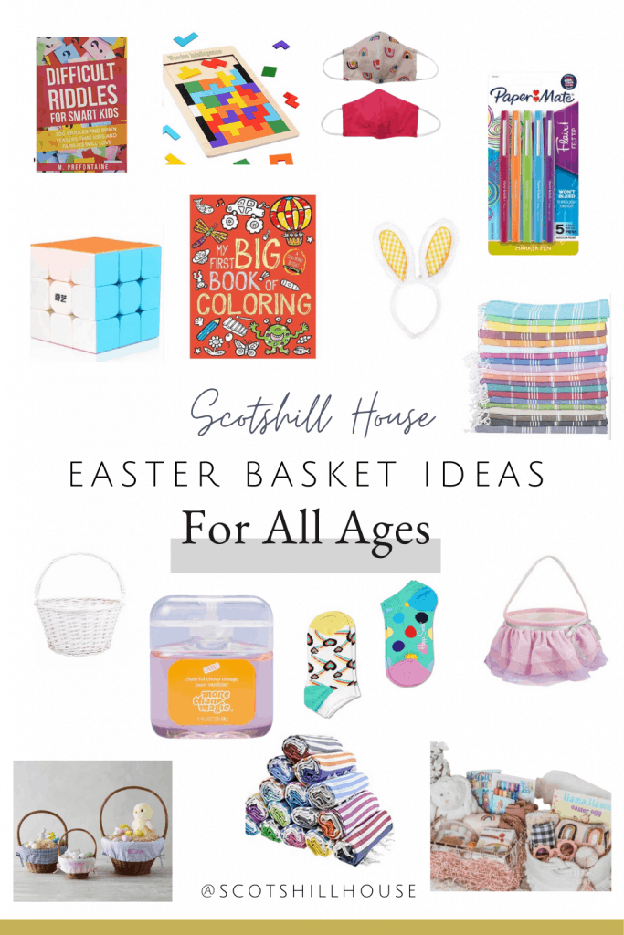 Easter gift basket ideas for all ages, easter basket ideas for all ages