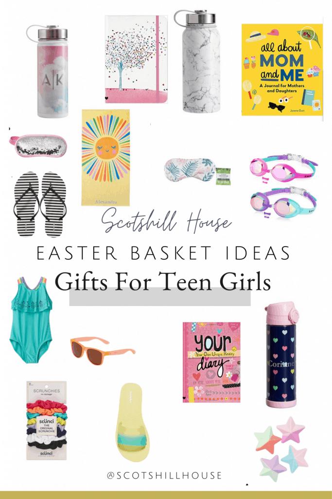 Easter gift basket ideas for teen girls