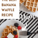 How To Make The Perfect Banana Waffles