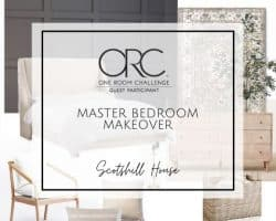 one room challenge week 2 Master bedroom makeover one room challenge