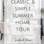 classic and simple summer home decor ideas