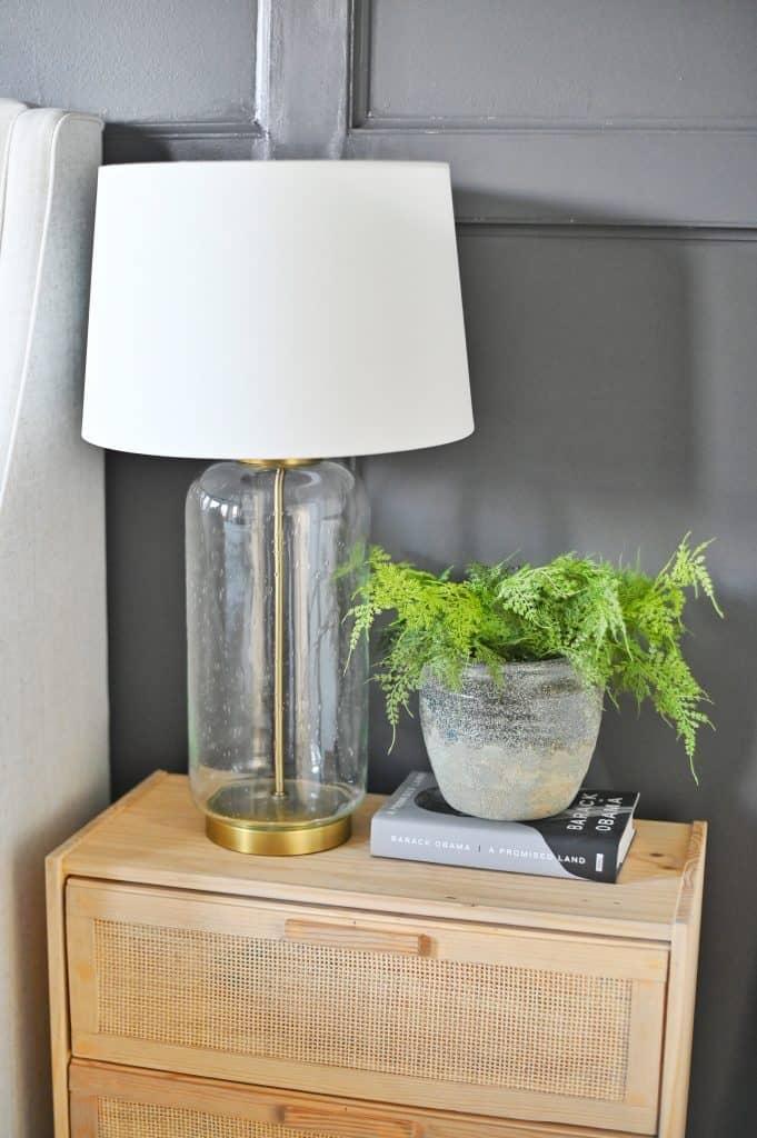 DIY Cane Nightstand Ikea Rast Hack