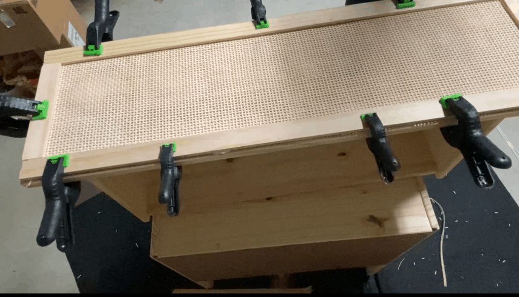 cane webbing DIY hack