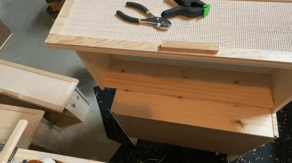 upcycling Ikea night stand