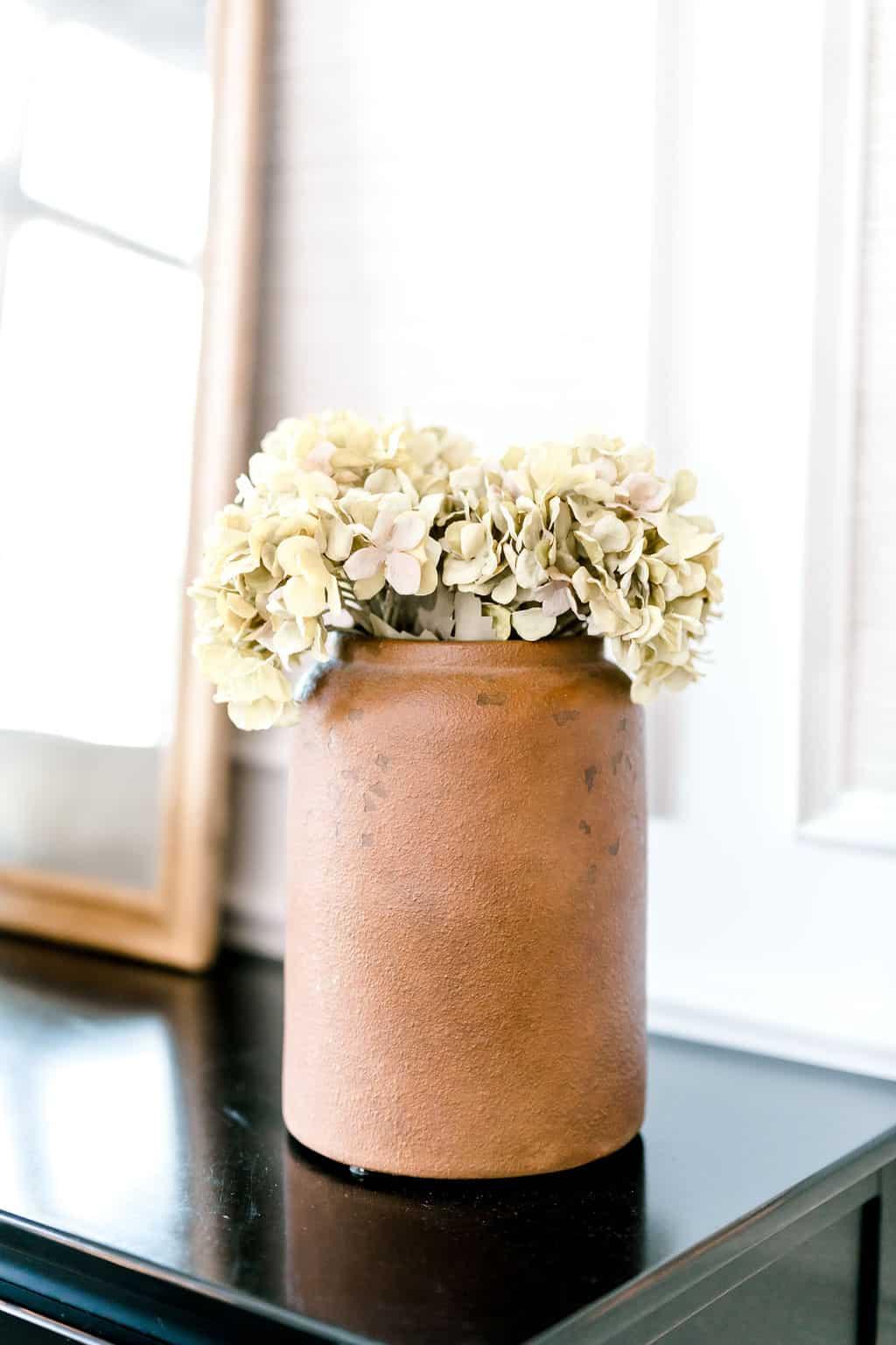 Fall vase fall decor terracotta vase