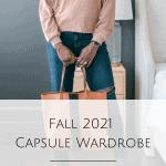 Fall 2021 Capsule Wardrobe
