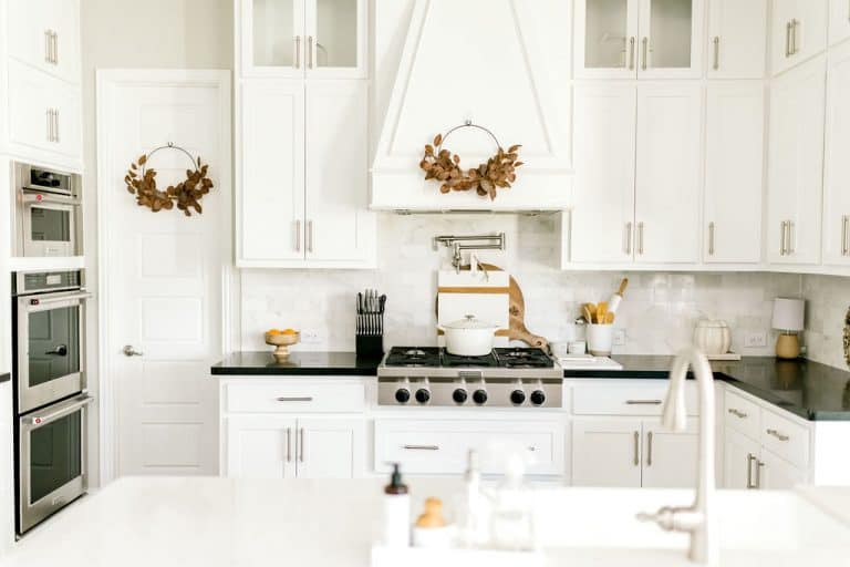 Kitchen with fall decor